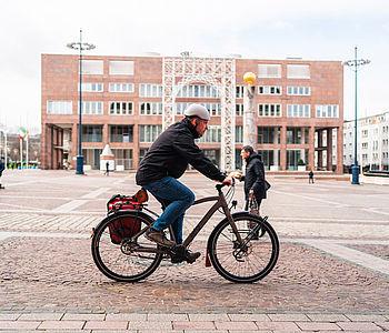 Daniel aus Dortmund und sein Fahrrad