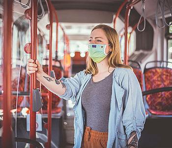 UmsteiGERN-Botschafterin Stefanie im Bus