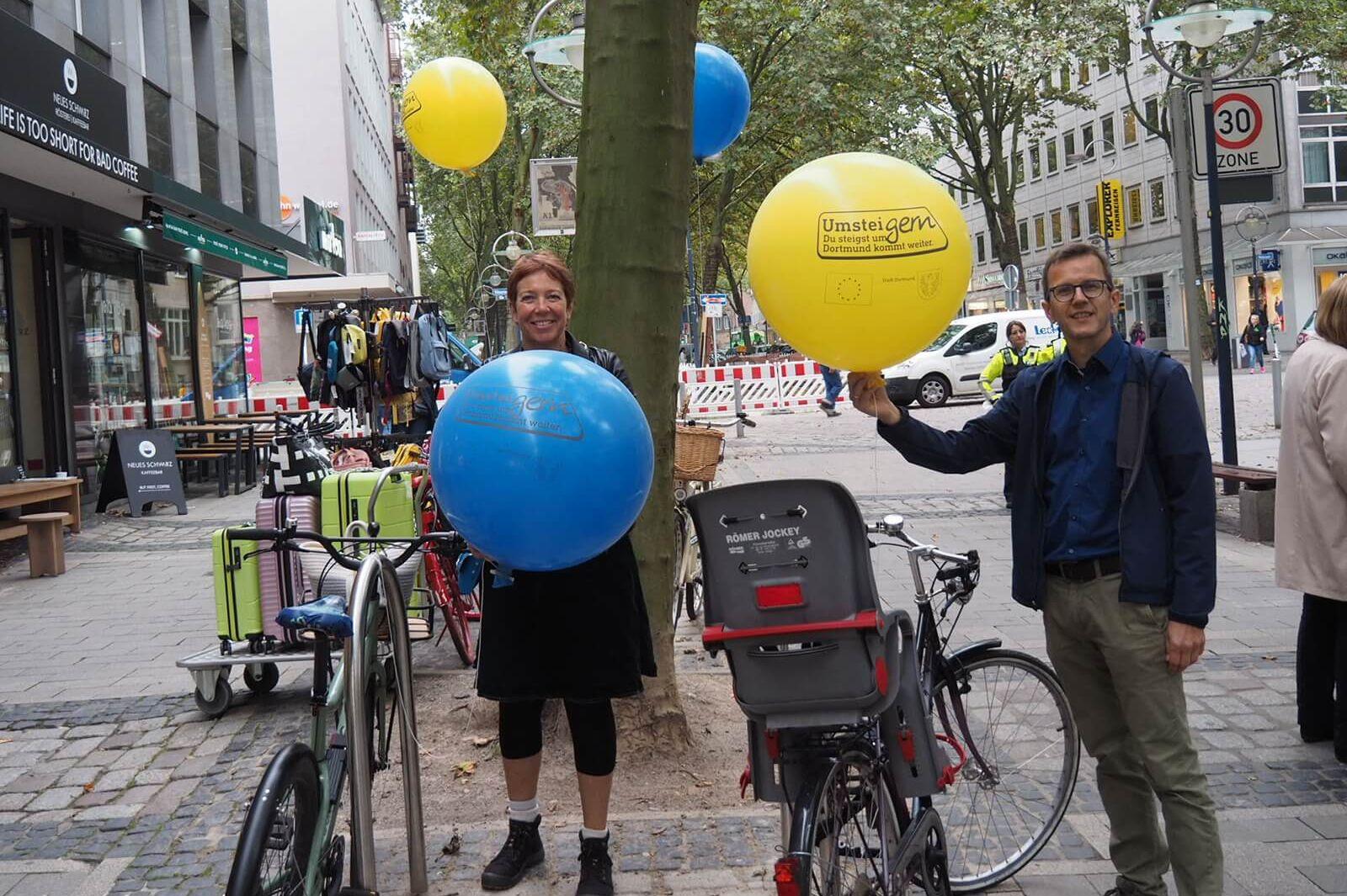 Ballonaktion Dortmund