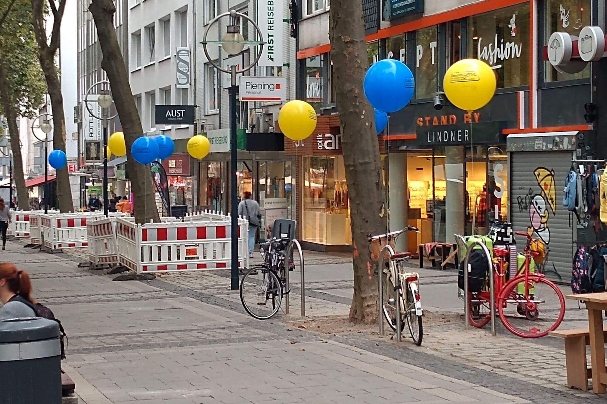 Ballon-Aktion Dortmund